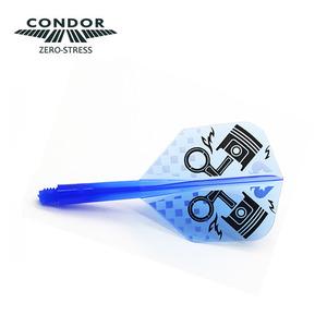 Condor Piston Clear Blue - Small